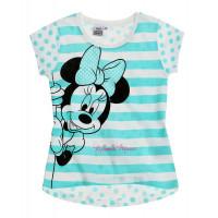 Dievčenské letné tričko Disney Minnie modré