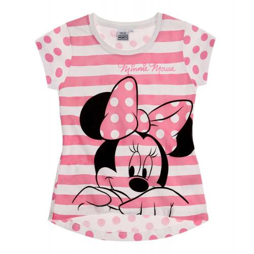 b5ef0debc Dievčenské letné tričko Disney Minnie ružové   Oblečenie pre deti