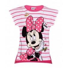 Dievčenské letné tričko Disney Minnie fuchsia