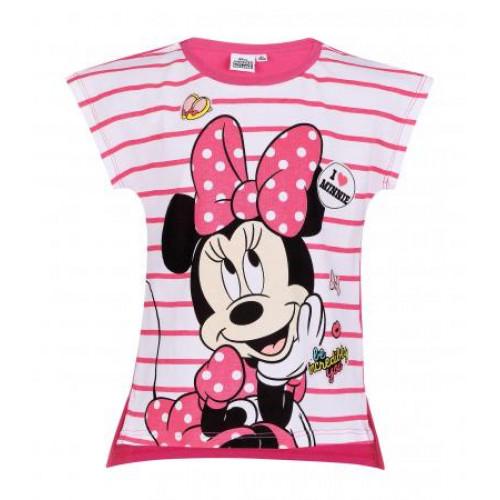 5b17858bd Dievčenské letné tričko Disney Minnie fuchsia | Oblečenie pre deti