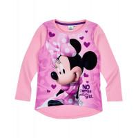 Tričko Minnie s dlhým rukávom ružové