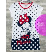 Nočná košeľa Disney Minnie modrá letná