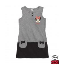 Dievčenské šaty Disney Minnie šedé