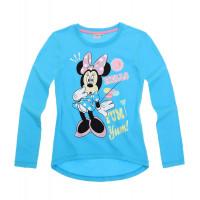Tričko Minnie s dlhým rukávom modré