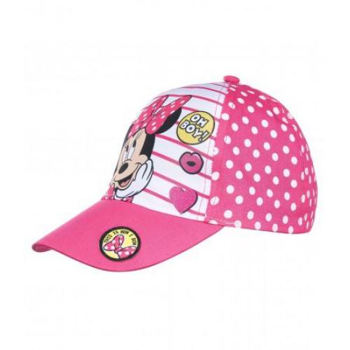 651580b67 Dievčenská šiltovka Minnie ružová s bodkami | Oblečenie pre deti