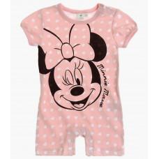 Kojenecký letný overal Disney Minnie ružový