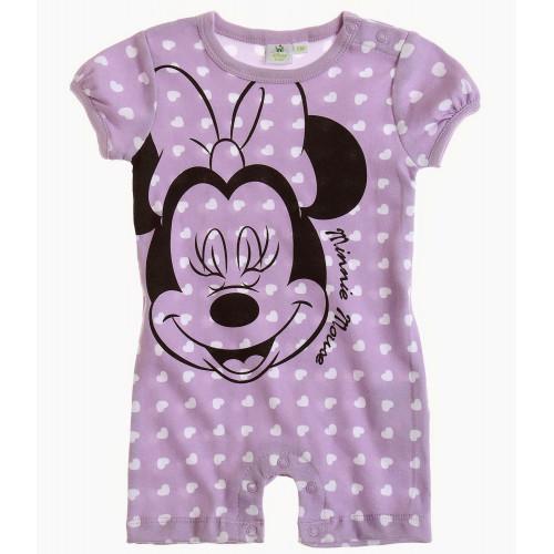 cdc8fd827 Kojenecký letný overal Disney Minnie fialový | Oblečenie pre deti