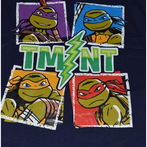 3356b184f4f2 ... Chlapčenské letné tričko Ninja Korytnačky tmavé