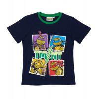 Chlapčenské letné tričko Ninja Korytnačky tmavé