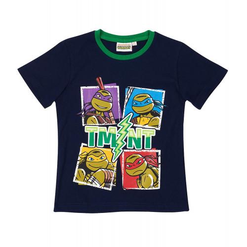 2de3c4c435ee Chlapčenské letné tričko Ninja Korytnačky tmavé ...