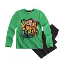 Pyžamo chlapčenské Ninja Korytnačky zelené