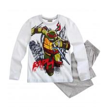 Pyžamo chlapčenské Ninja Korytnačky biele