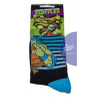 Chlapčenské ponožky Ninja tyrkysové