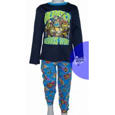 Pyžamo chlapčenské modré Ninja Korytnačky