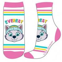 Dievčenské ponožky Paw Patrol biele