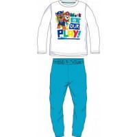 Chlapčenské dlhé pyžamo Paw Patrol modré