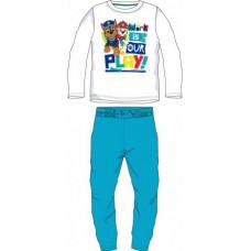 Chlapčenské dlhé pyžamo Paw Patrol modré 98