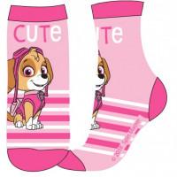 Dievčenské ponožky Paw Patrol ružové