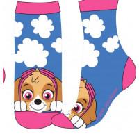 Dievčenské ponožky Paw Patrol modré