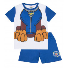 Chlapčenské letné pyžamo modré Paw Patrol