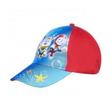 Chlapčenská šiltovka Paw patrol modro-červená