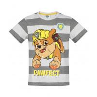 Paw Patrol Tričko s krátkym rukávom Rubble šedé