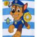 Paw Patrol Tričko s krátkym rukávom Chase modré