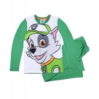 Chlapčenské pyžamo dlhé Paw Patrol zelené
