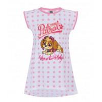 Dievčenská letná nočná košeľa Paw Patrol Skye