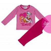 Dievčenské dlhé pyžamo Paw Patrol LOVE