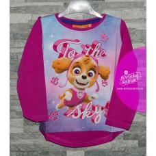 Dievčenské tričko ružové Paw Patrol