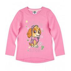 Dievčenské tričko Paw Patrol ružové č.110