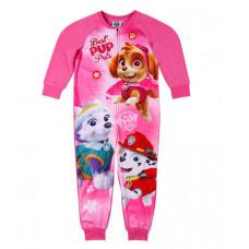 Dievčenské pyžamo dlhé Paw Patrol teplý overal (flis)