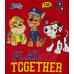Chlapčenské tričko Paw Patrol červené letné