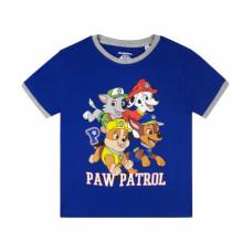 Chlapčenské tričko Paw Patrol modré letné