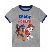 Chlapčenské tričko Paw Patrol šedé letné