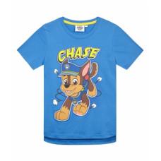 Chlapčenské tričko letné Paw Patrol modré