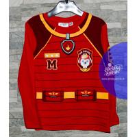 Chlapčenské dlhé tričko Paw Patrol červene 98,104