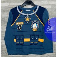 Chlapčenské dlhé tričko Paw Patrol modré č.98