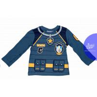 Chlapčenské dlhé tričko Paw Patrol modré