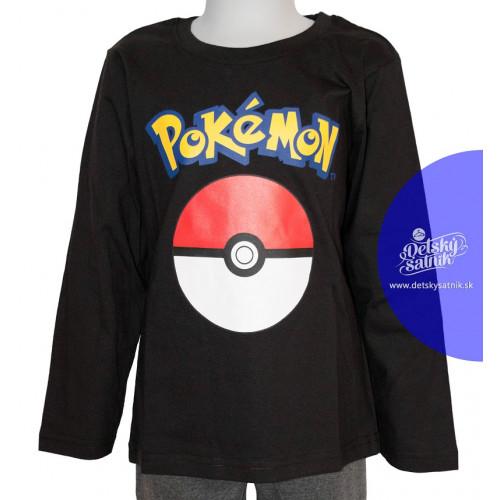 6bd90aae6e3a ... Tričko Pokémon s dlhým rukávom čierne