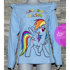 Dievčenské tričko My Little Pony modré