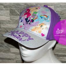 Dievčenská šiltovka Môj malý pony fialová
