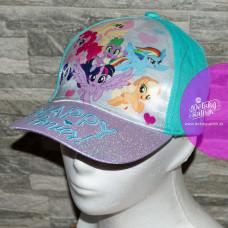 Dievčenská šiltovka Môj malý pony tyrkysová