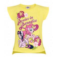 Dievčenské letné tričko My Little Pony žlté