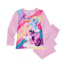 Dievčenské dlhé pyžamo My Little Pony fialové
