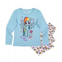 Dievčenské dlhé pyžamo My Little Pony modré č.104