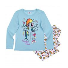 Dievčenské dlhé pyžamo My Little Pony modré č.110