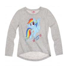 Tričko My little pony s dlhým rukávom šedé
