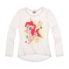 Tričko My little pony s dlhým rukávom biele